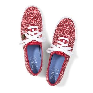 Keds Taylor Swift Glasses Print Red